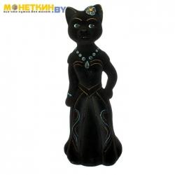 Копилка «Кошка Миледи» большая черный
