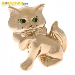 Копилка «Кошка Милка» золото