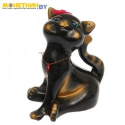 Копилка «Кошка Анфиса» черная