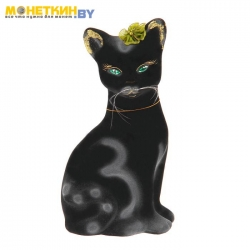 Копилка «Кошка Лиза» черная
