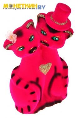 Копилка «Коты Жених и Невеста» розовые