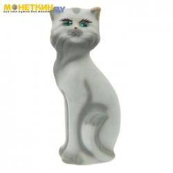 Копилка «Кошка Матильда» серая