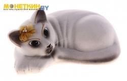 Копилка «Кошка Соня» Белый