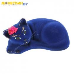 Копилка «Кошка Соня» синий
