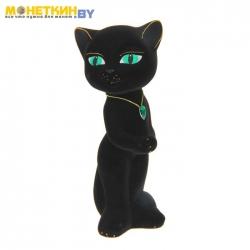 Копилка «Кошка Анжела» черный
