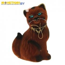 Копилка «Кошка Сима» коричневый