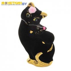 Копилка «Кошка Мама» бант черный булат