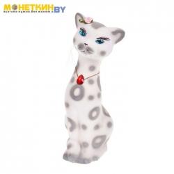 Копилка «Кошка Алиска» малая белый
