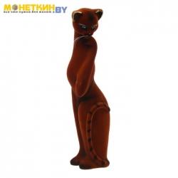 Копилка «Кошка кокетка» коричневый