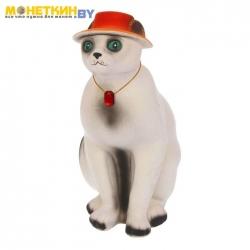 Копилка «Кот» огромный, белый