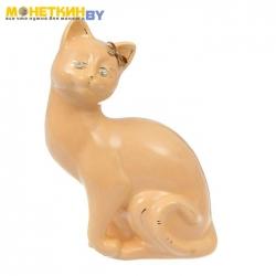 Копилка «Кошка Шарлота» глазурь кремовая