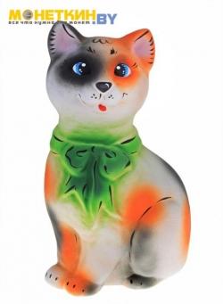 Копилка «Кошка с бантом»