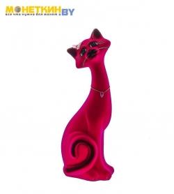 Копилка «Кот Маркиз» большой розовый