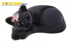 Копилка «Кошка Соня» серый