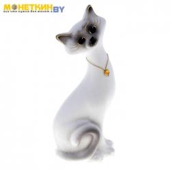 Копилка «Кот Маркиз» Малый Белый