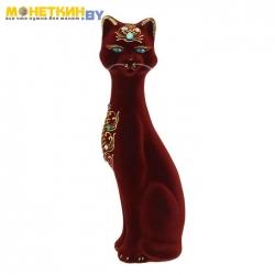 Копилка «Кошка Камила» средняя бордо