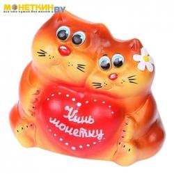 Копилка «Пара котов декор»