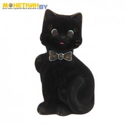 Копилка «Кот Бонни» черный