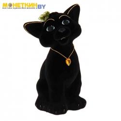 Копилка «Кот Тимофей» черный