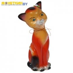 Копилка «Кошка Алиса» большая глянец оранжевый