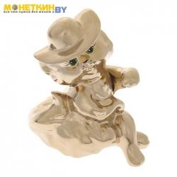 Копилка «Кошка Мадам» золото