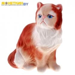 Копилка «Кот Персидский» рыжий