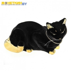 Копилка «Кошка Ляля» булат черная