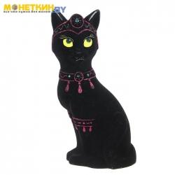Копилка «Кошка Принцесса» черный