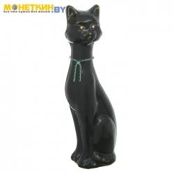 Копилка «Кошка Камила» глазурь черная