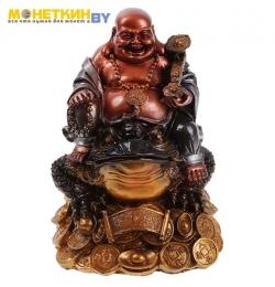 Копилка «Будда на жабе» аэрограф