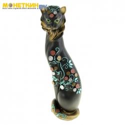 Копилка «Кошки Маркиза» Денежное дерево №2 черная