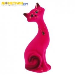 Копилка «Кот Маркиз» розовый