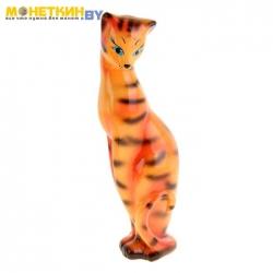 Копилка «Кошка Багира» большая глянец рыжий