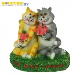 Копилка «Влюбленные кошки: всё будет хорошо!»