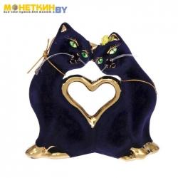 Копилка «Кошки Сердце» булат кобальт