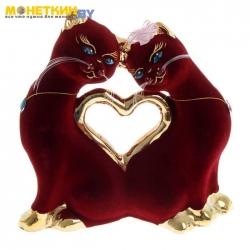 Копилка «Кошки Сердце» булат бордо