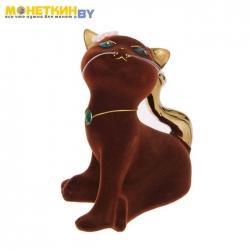 Копилка «Кошка Анфиса» коричневый