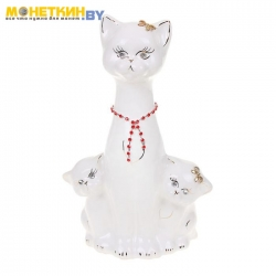 Копилка «Кошка с котятами»