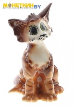 Копилка «Кошка Лизка»рыжий глянец