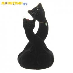 Копилка «Коты пара Инь – Янь» черный
