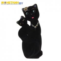 Копилка «Кошка Сьюзи – мама» черный