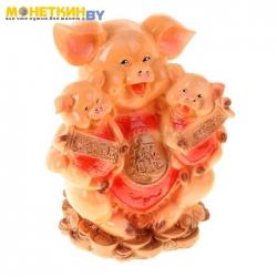 Копилка «Свинка с детьми»