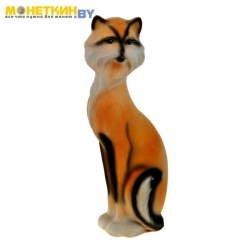 Копилка «Кошка Матильда» рыжая рисованая