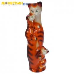Копилка «Багира мама» большая глянец оранжево – тигровый