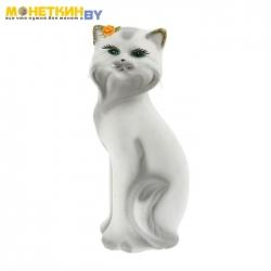 Копилка «Кошка Матильда» малая белый