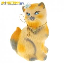 Копилка «Кошка Сима» бежевый