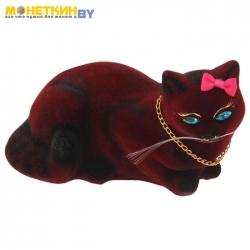 Копилка «Кошка Ляля» малая бордо