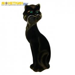 Копилка «Кошка Матильда» черная задувка