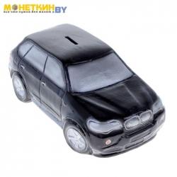Копилка «Машина Бумер №1» черный