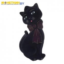 Копилка «Кот Джаспер» черный